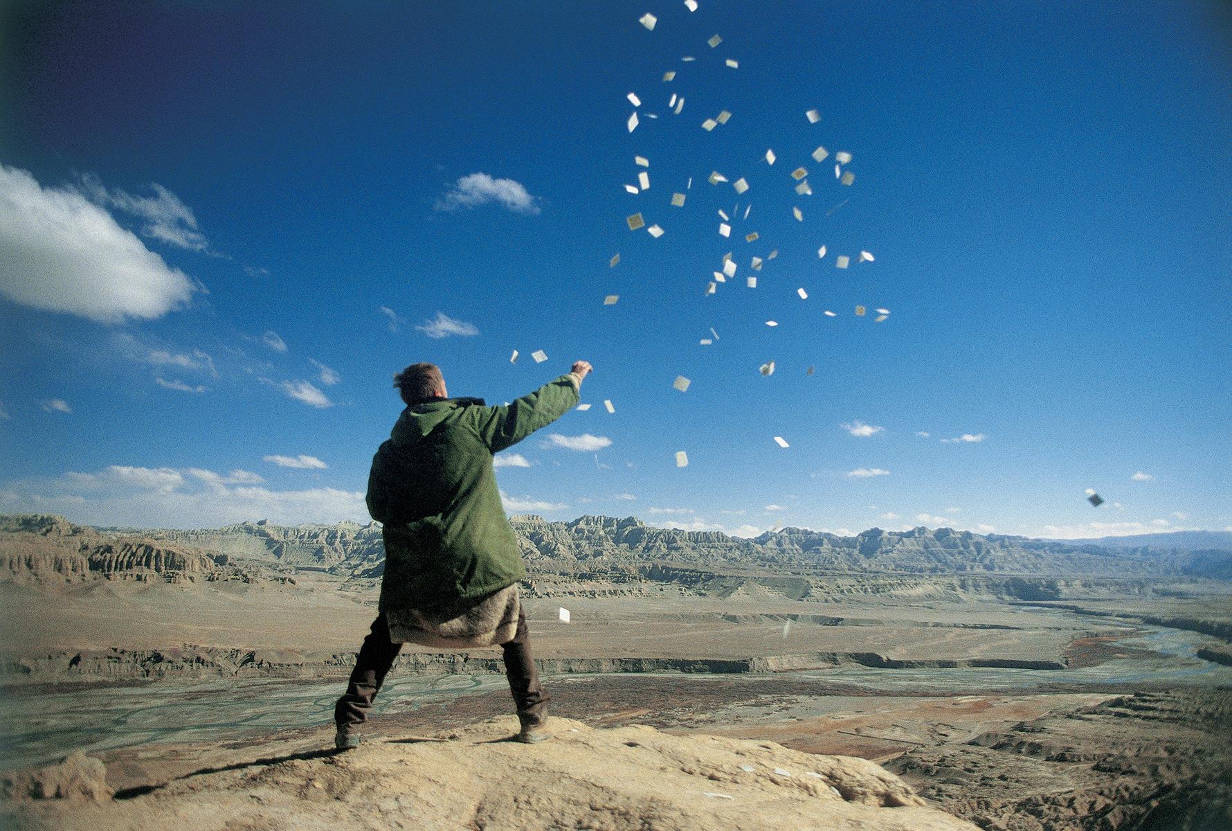 Tholing, Tibet. 1995