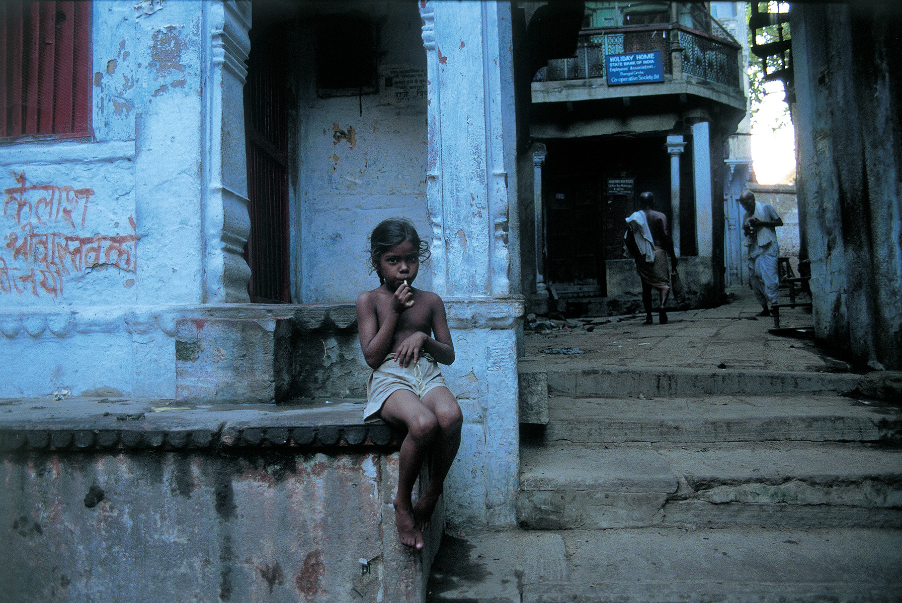 Varanasi, India. 1994