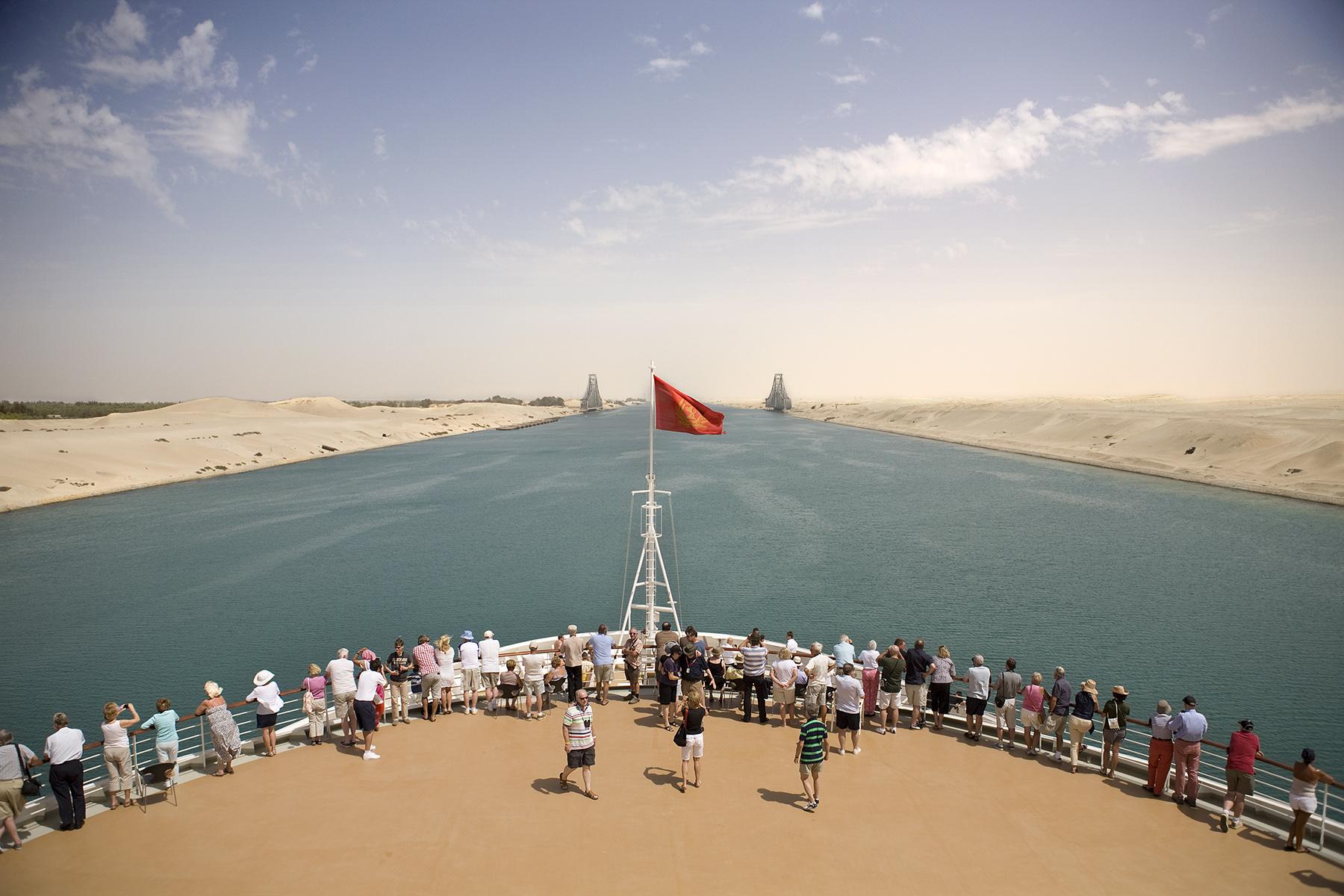 Suez Canal, Egypt. 2012